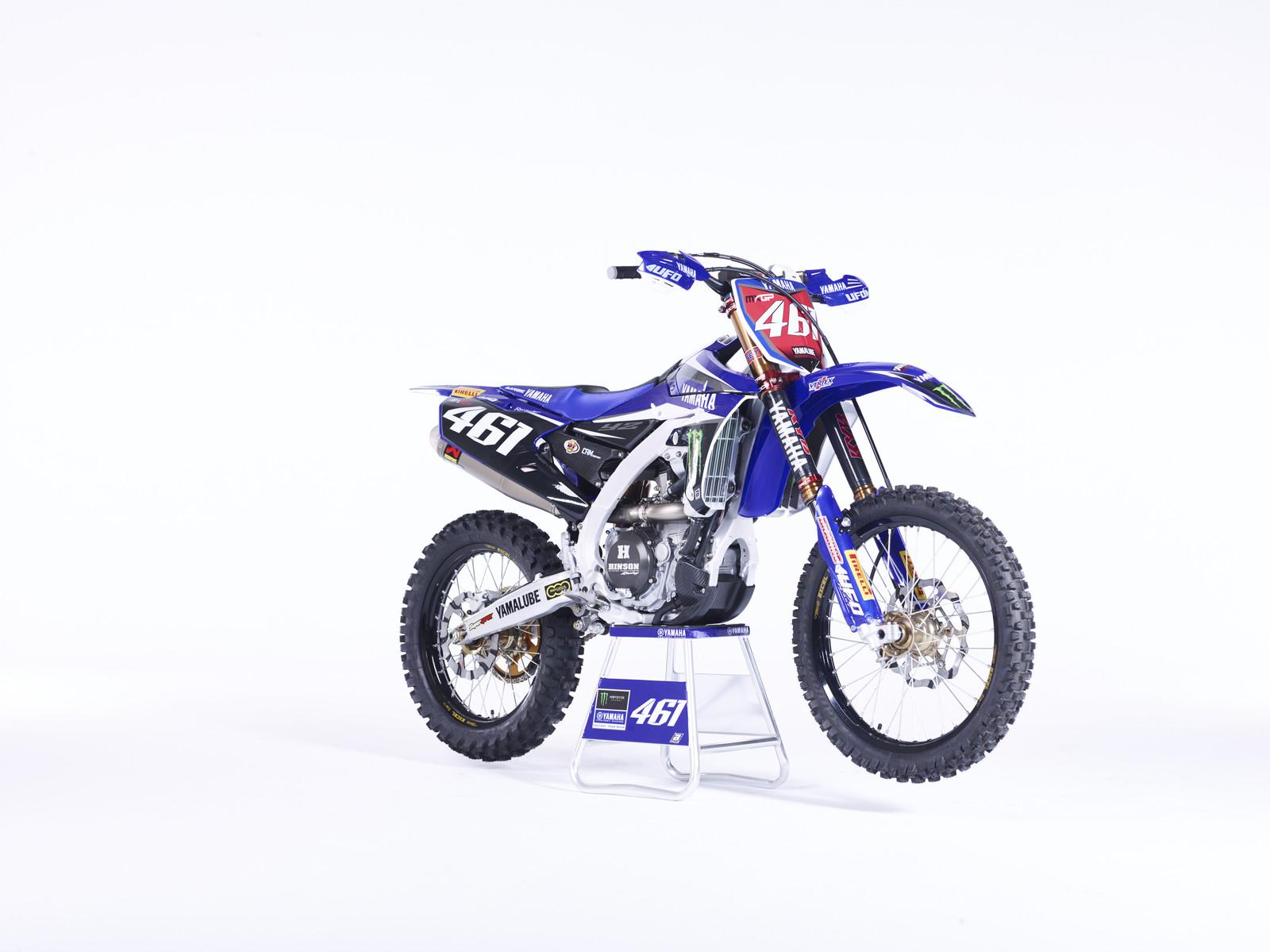 Romain Febvre's YZ450FM - First Look: 2016 Monster Energy Yamaha YZ450FM - Motocross Pictures - Vital MX