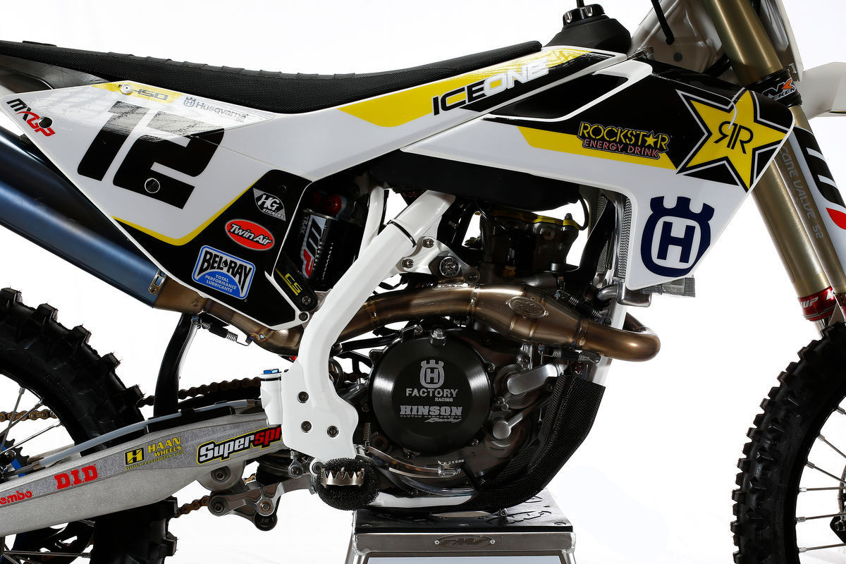 2016 Rockstar Energy Husqvarna Factory Racing FC 450 - First Look: 2016 Rockstar Energy Husqvarna Factory Racing FC 450 - Motocross Pictures - Vital MX