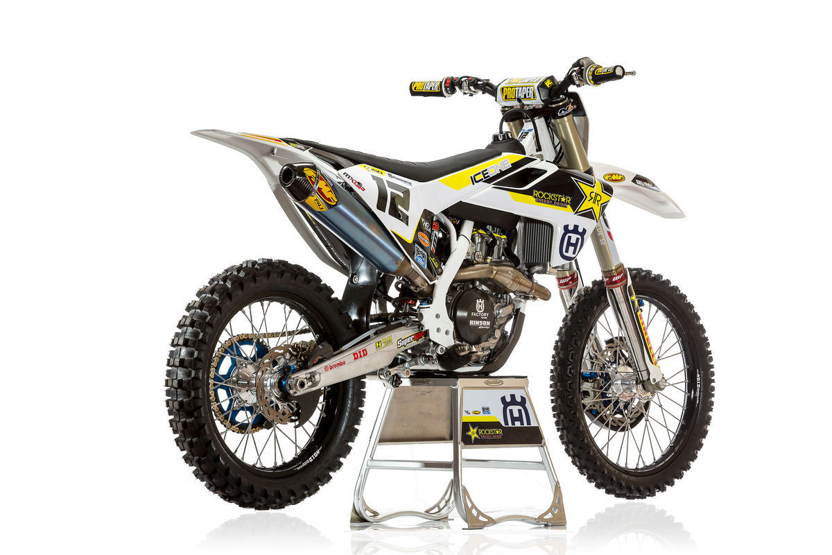 Max Nagl's 2016 Rockstar Energy Husqvarna Factory Racing FC 450 - First Look: 2016 Rockstar Energy Husqvarna Factory Racing FC 450 - Motocross Pictures - Vital MX