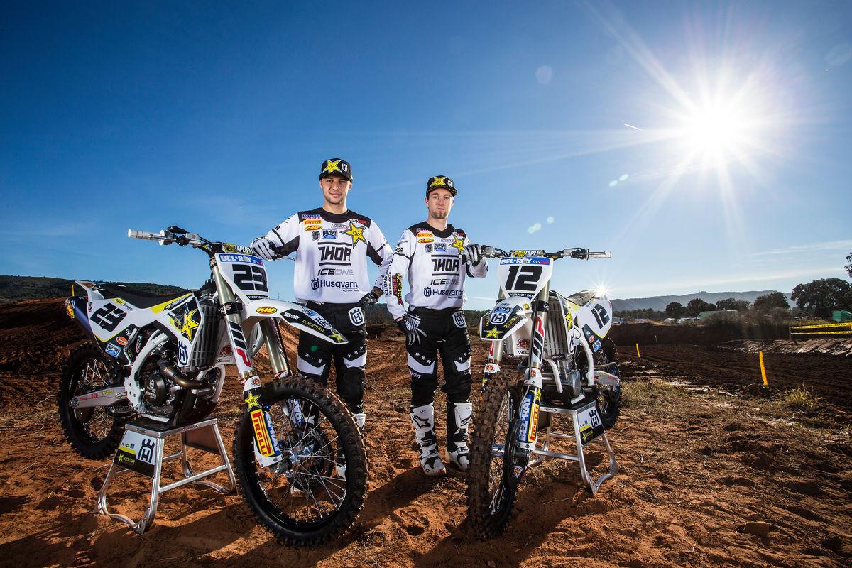 Max Nagl, Christophe Charlier, and Their Husqvarna FC 450s - First Look: 2016 Rockstar Energy Husqvarna Factory Racing FC 450 - Motocross Pictures - Vital MX