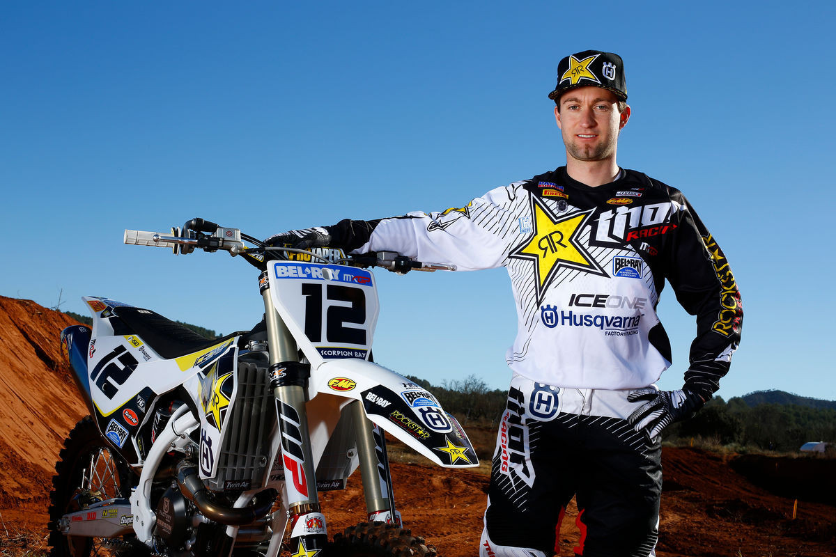 Max Nagl and his Rockstar Racing Husqvarna FC 450 - First Look: 2016 Rockstar Energy Husqvarna Factory Racing FC 450 - Motocross Pictures - Vital MX