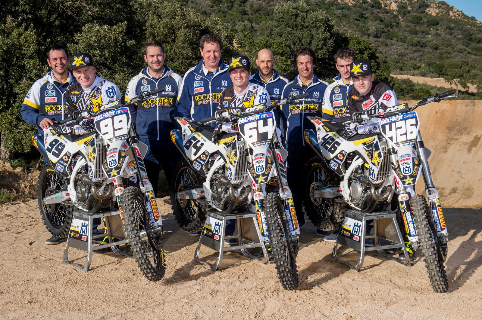 Rockstar Energy Husqvarna Factory Racing MX2 - First Look: Rockstar Energy Husqvarna Factory Racing MX2 - Motocross Pictures - Vital MX