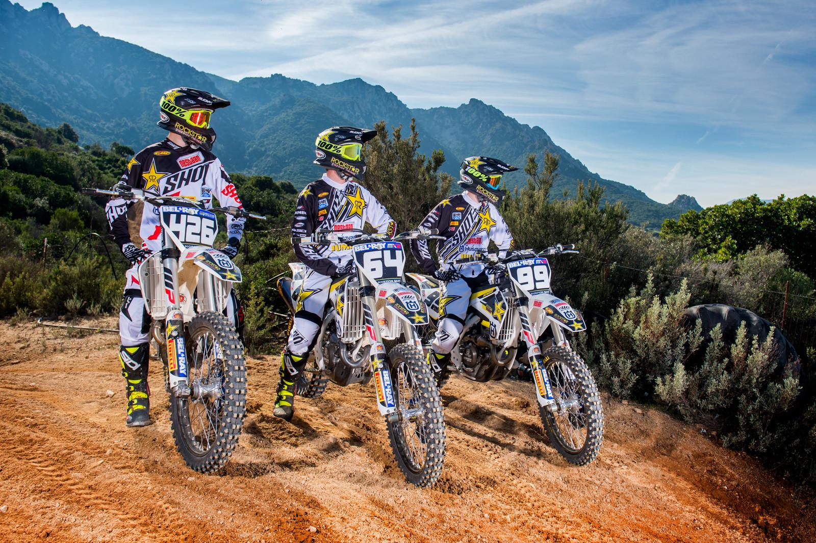 Rockstar Energy Husqvarna Factory Racing MX2 - First Look: Rockstar Energy Husqvarna Factory Racing MX2 - Motocross Pictures - Vital MX
