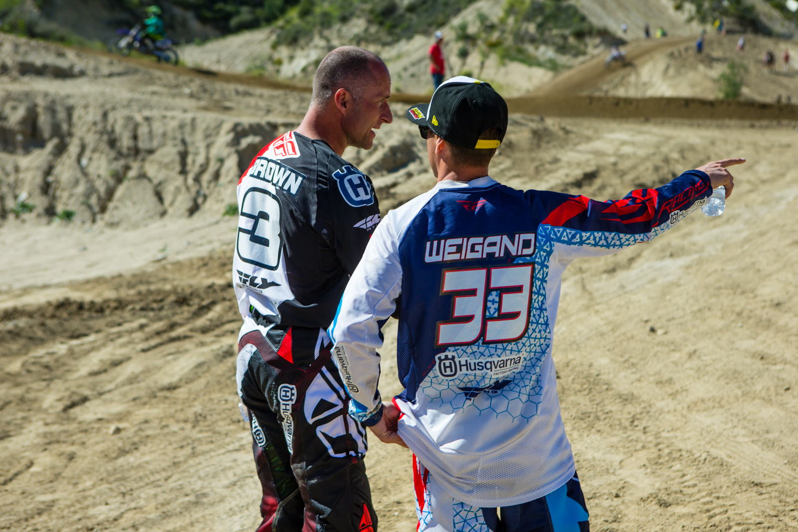 Mike Brown and Timmy Weigand - 2016 MTA World Two-Stroke Nationals - Motocross Pictures - Vital MX