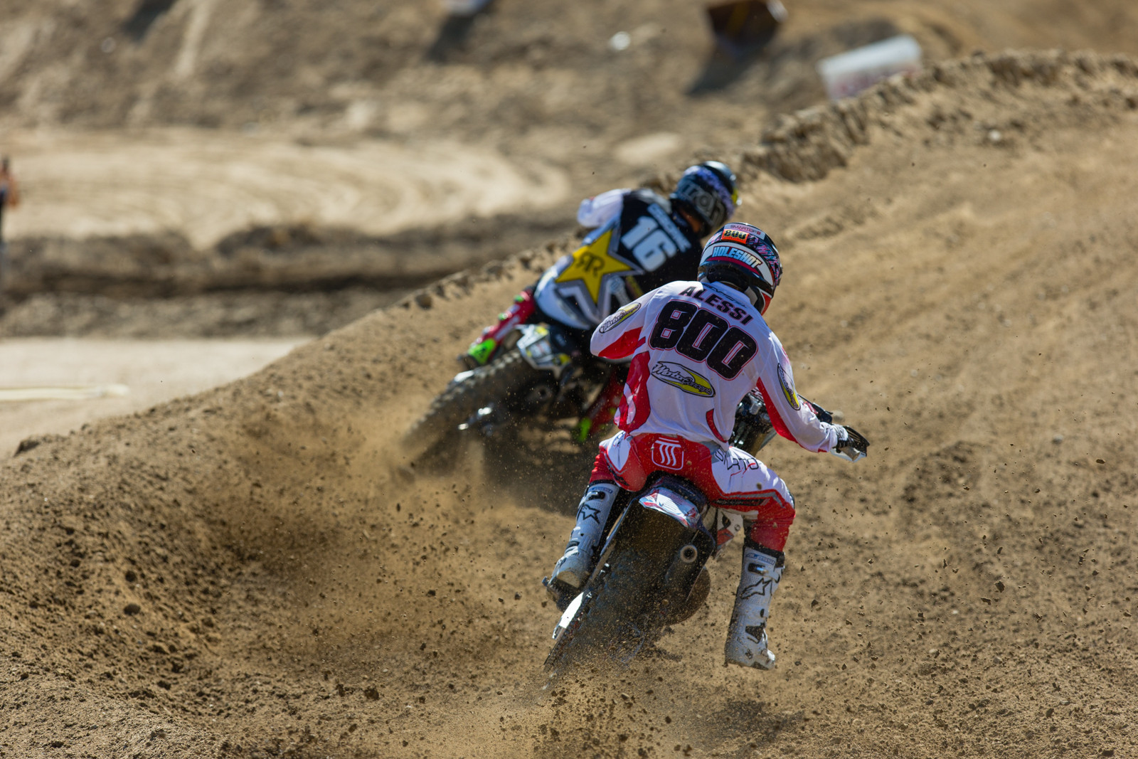 Zach Osborne and Mike Alessi - 2016 MTA World Two-Stroke Nationals - Motocross Pictures - Vital MX
