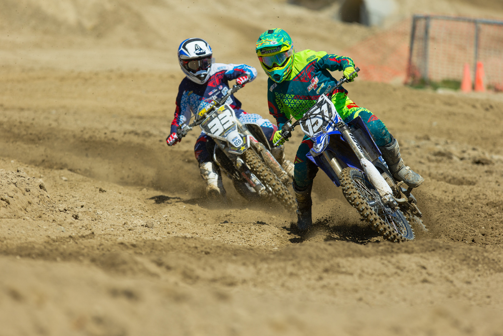 Ryan Surratt and Timmy Weigand - 2016 MTA World Two-Stroke Nationals - Motocross Pictures - Vital MX