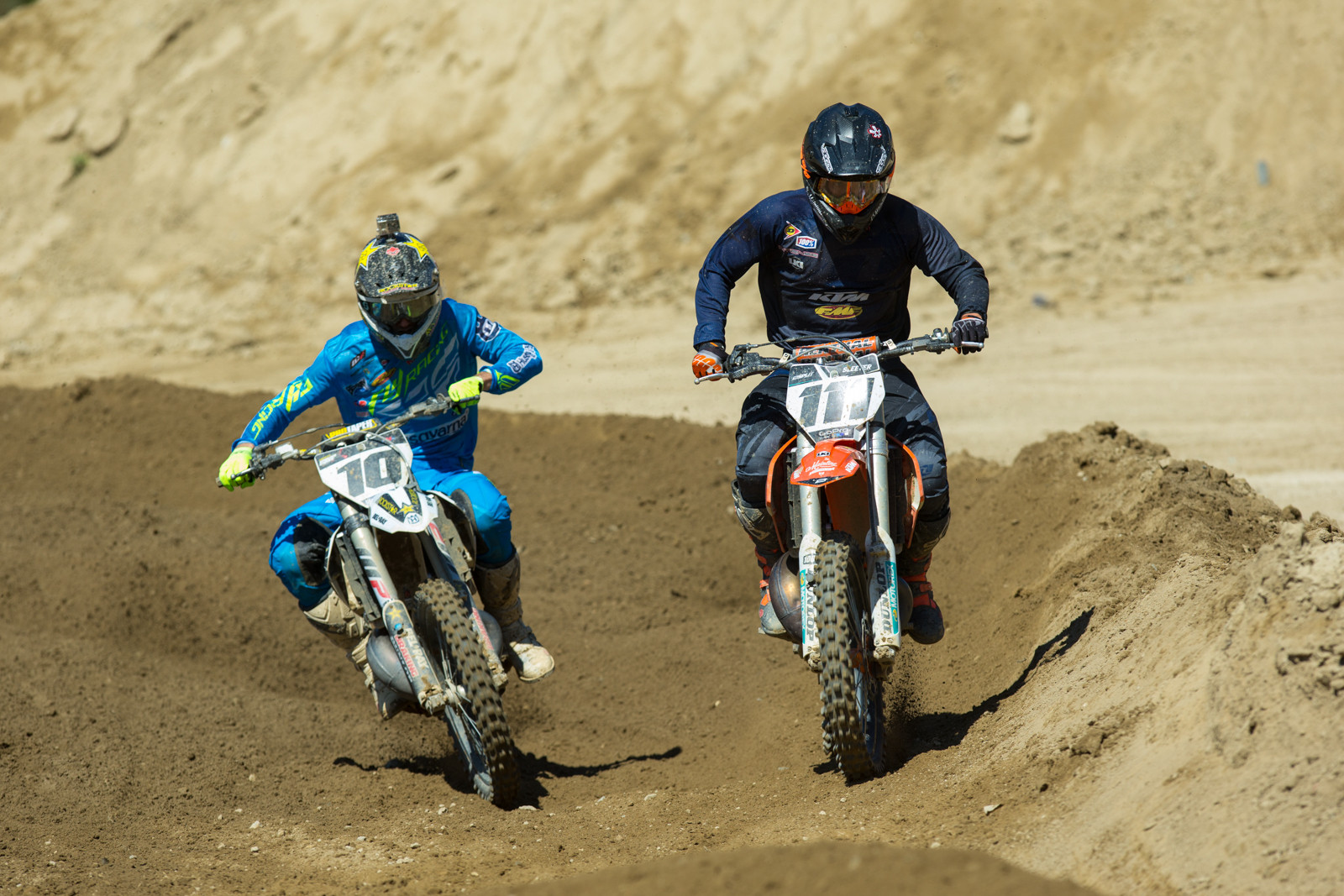 Mike Sleeter and Colton Haaker - 2016 MTA World Two-Stroke Nationals - Motocross Pictures - Vital MX