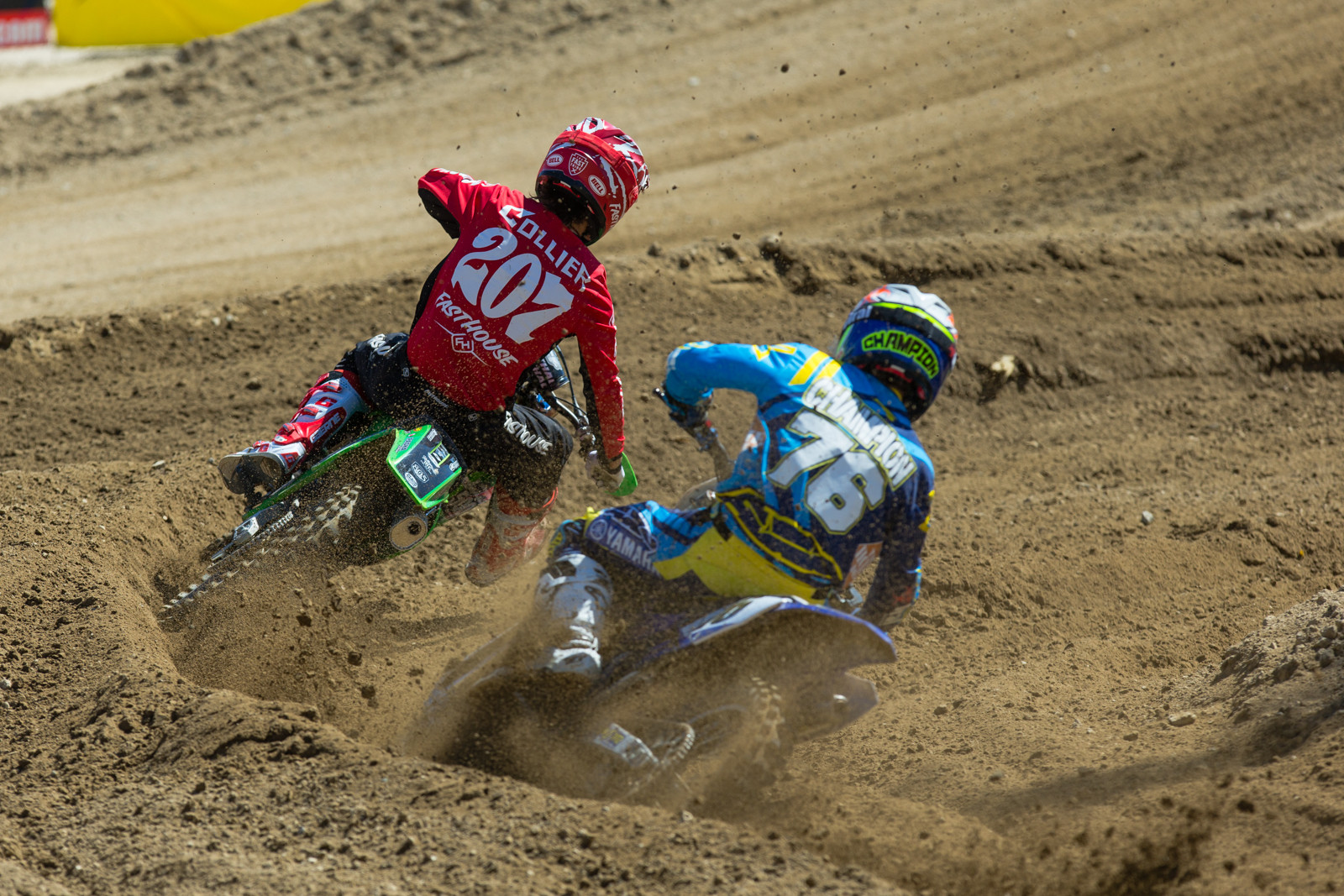 Sean Collier and Scott Champion - 2016 MTA World Two-Stroke Nationals - Motocross Pictures - Vital MX