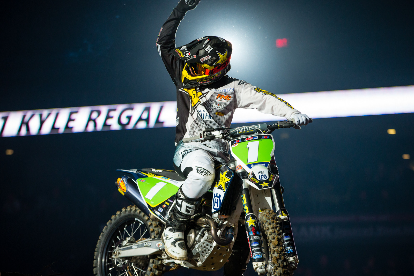 Kyle Regal - Photo Gallery: Ontario Arenacross - Friday Night - Motocross Pictures - Vital MX