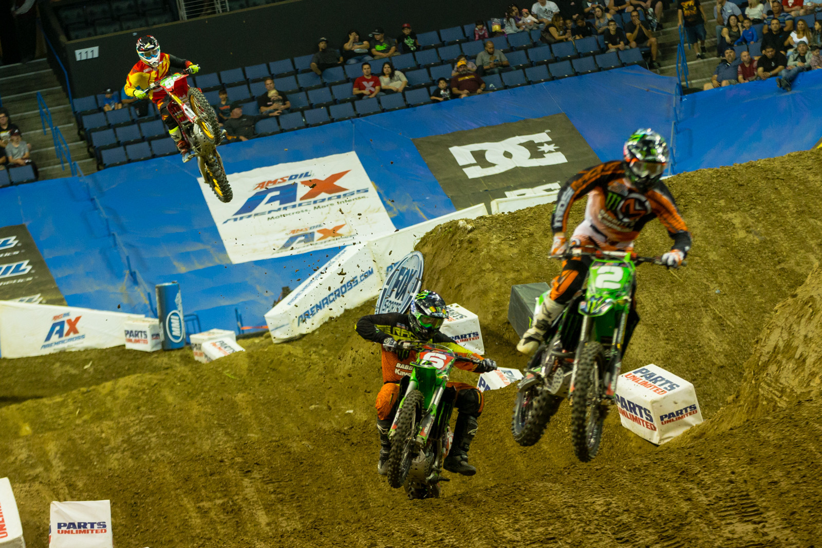Heat Race - Photo Gallery: Ontario Arenacross - Saturday Night - Motocross Pictures - Vital MX