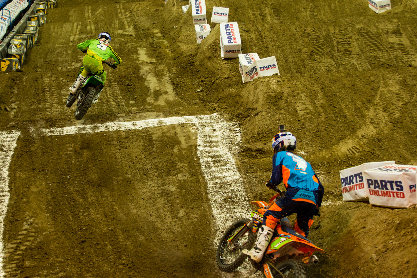 Arenacross Main Event One Start - Photo Gallery: Ontario Arenacross - Saturday Night - Motocross Pictures - Vital MX