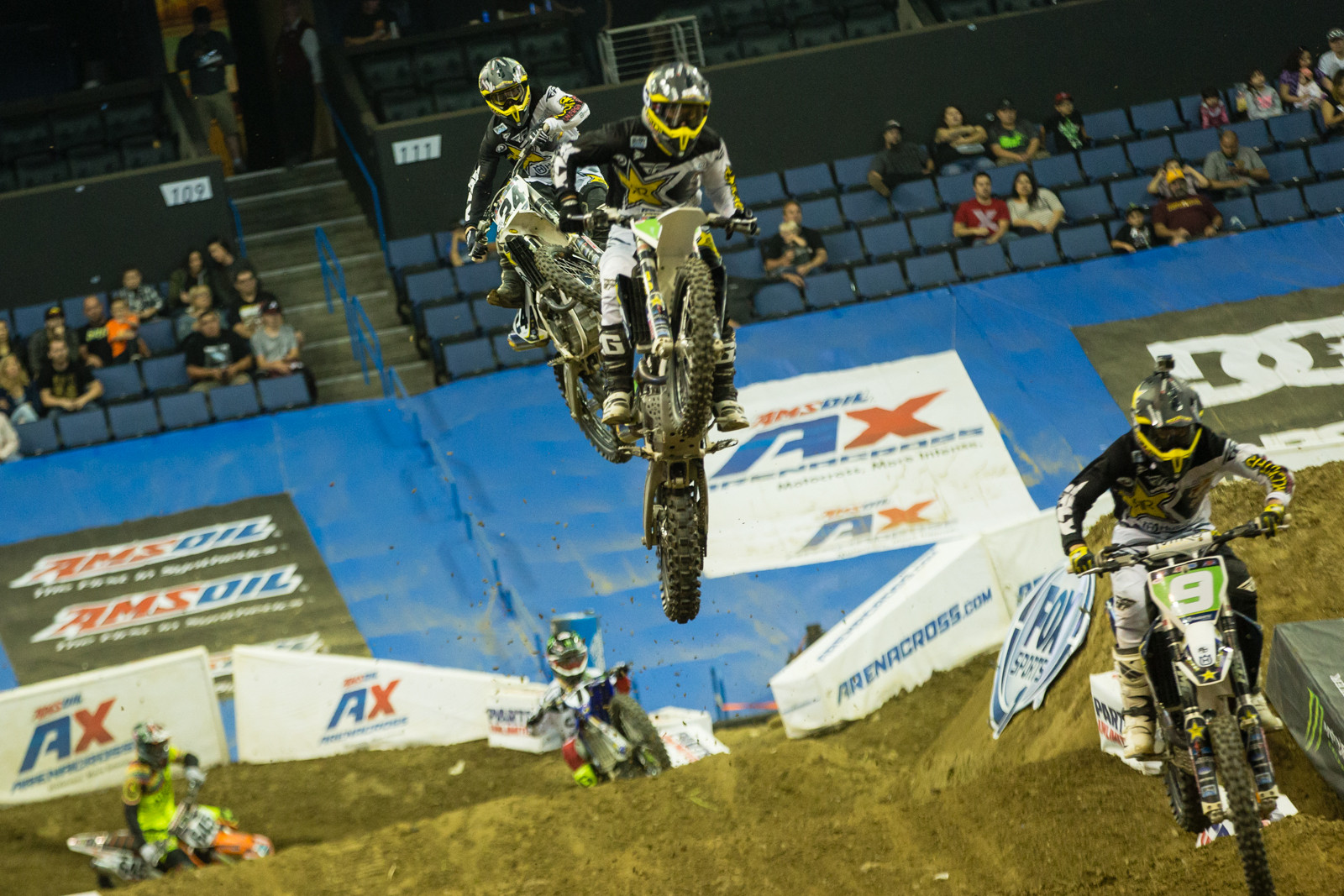 Husqvarna Train - Photo Gallery: Ontario Arenacross - Saturday Night - Motocross Pictures - Vital MX