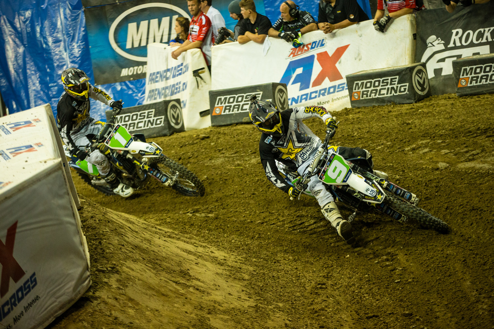Kyle Regal and Gared Steinke - Photo Gallery: Ontario Arenacross - Saturday Night - Motocross Pictures - Vital MX