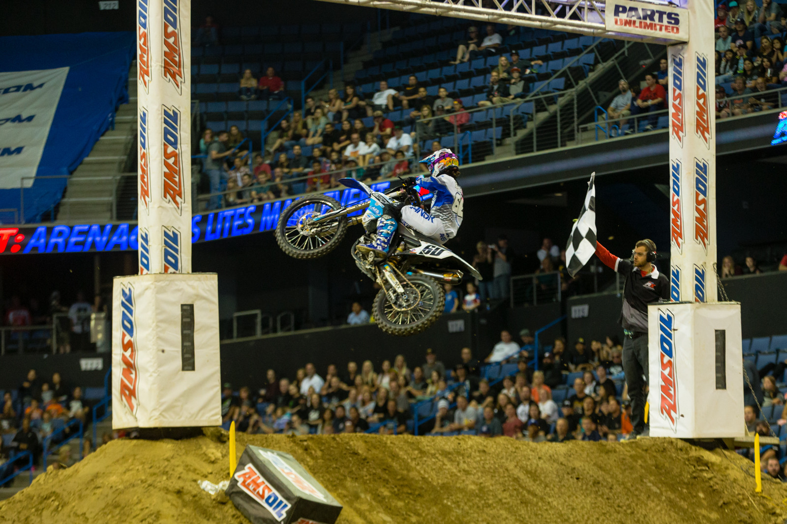 Stone Edler - Photo Gallery: Ontario Arenacross - Saturday Night - Motocross Pictures - Vital MX