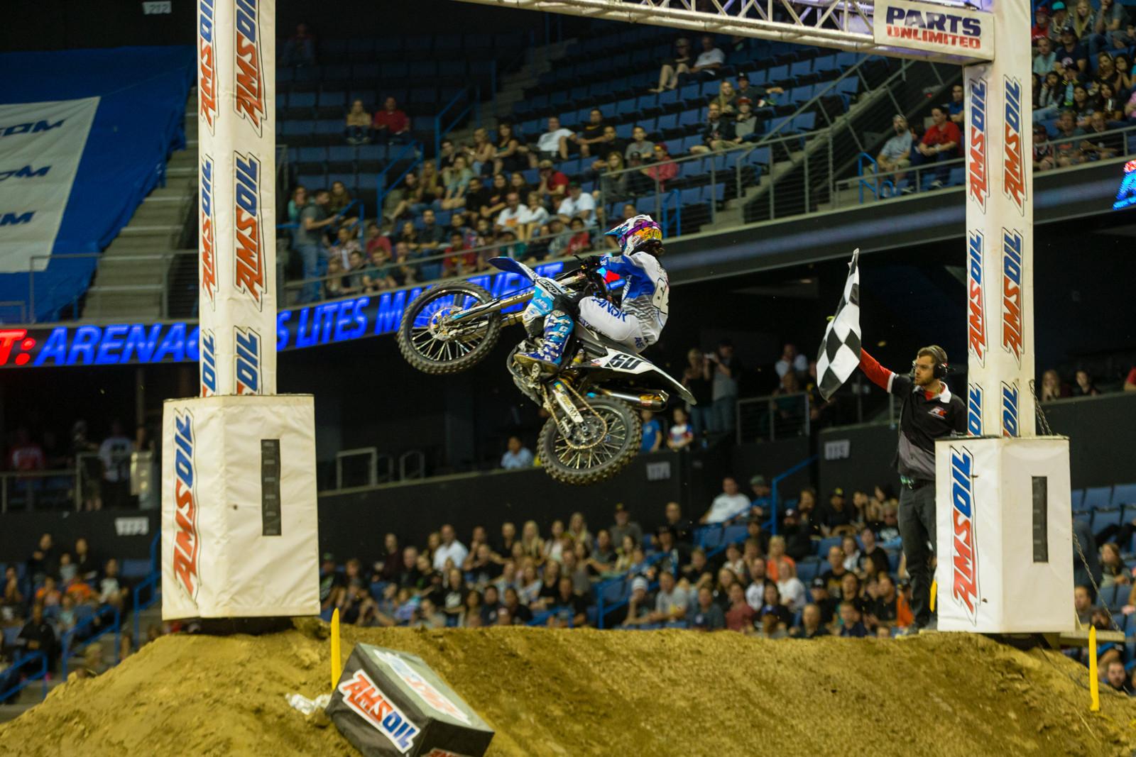 Stone Edler - Photo Gallery: Ontario Arenacross - Saturday Night - Motocross Pictures - Vital MX