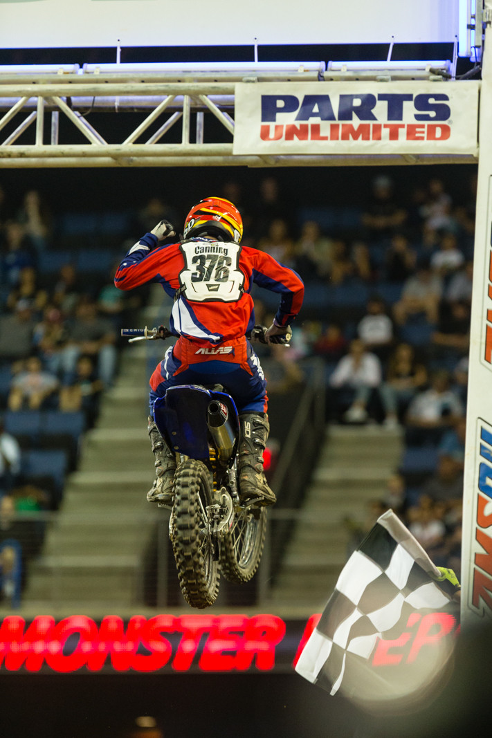 Chris Canning - Photo Gallery: Ontario Arenacross - Saturday Night - Motocross Pictures - Vital MX