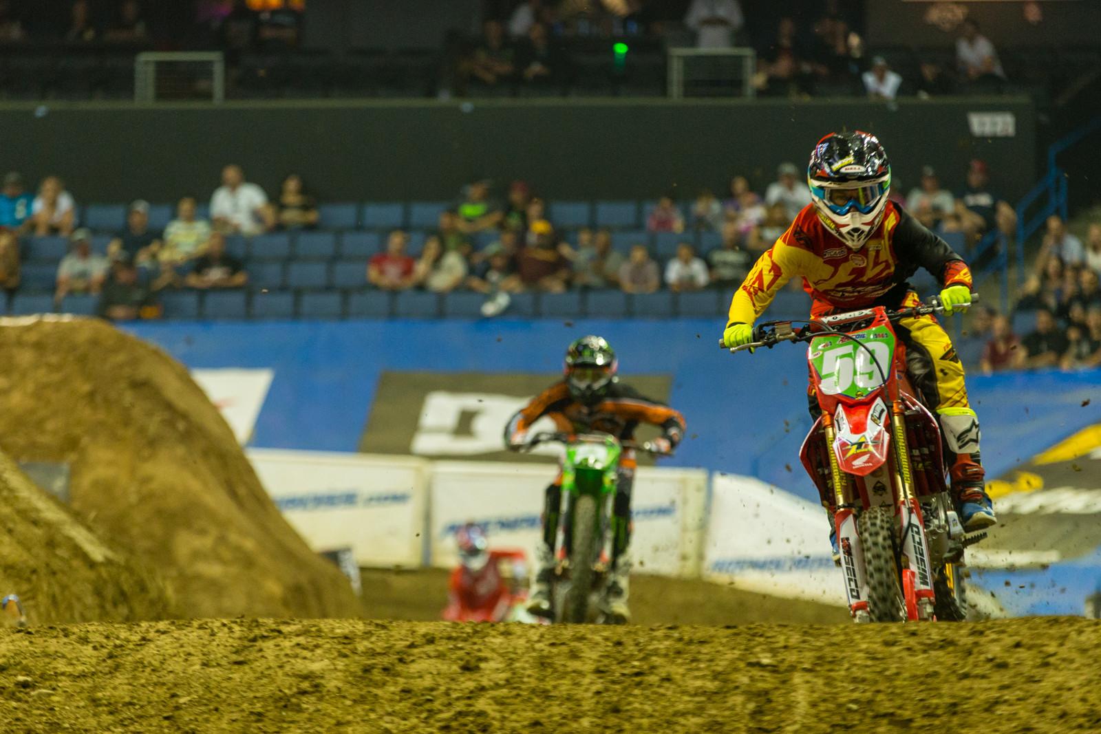 Jace Owen - Photo Gallery: Ontario Arenacross - Saturday Night - Motocross Pictures - Vital MX