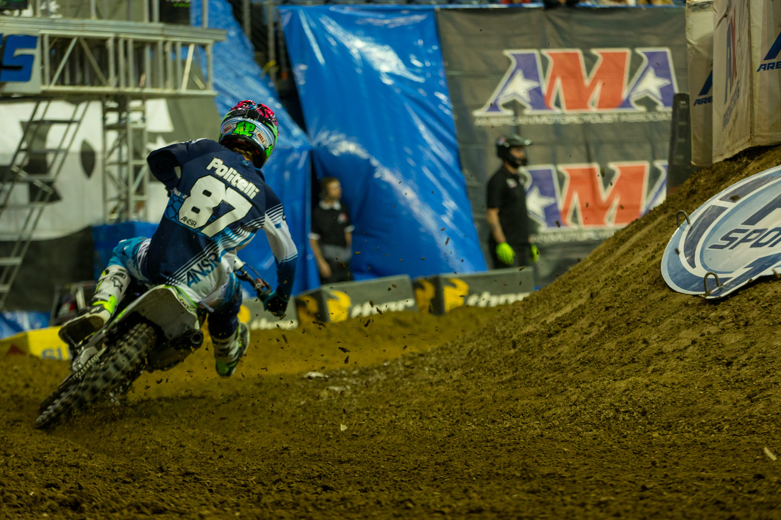 Austin Politelli - Photo Gallery: Ontario Arenacross - Saturday Night - Motocross Pictures - Vital MX