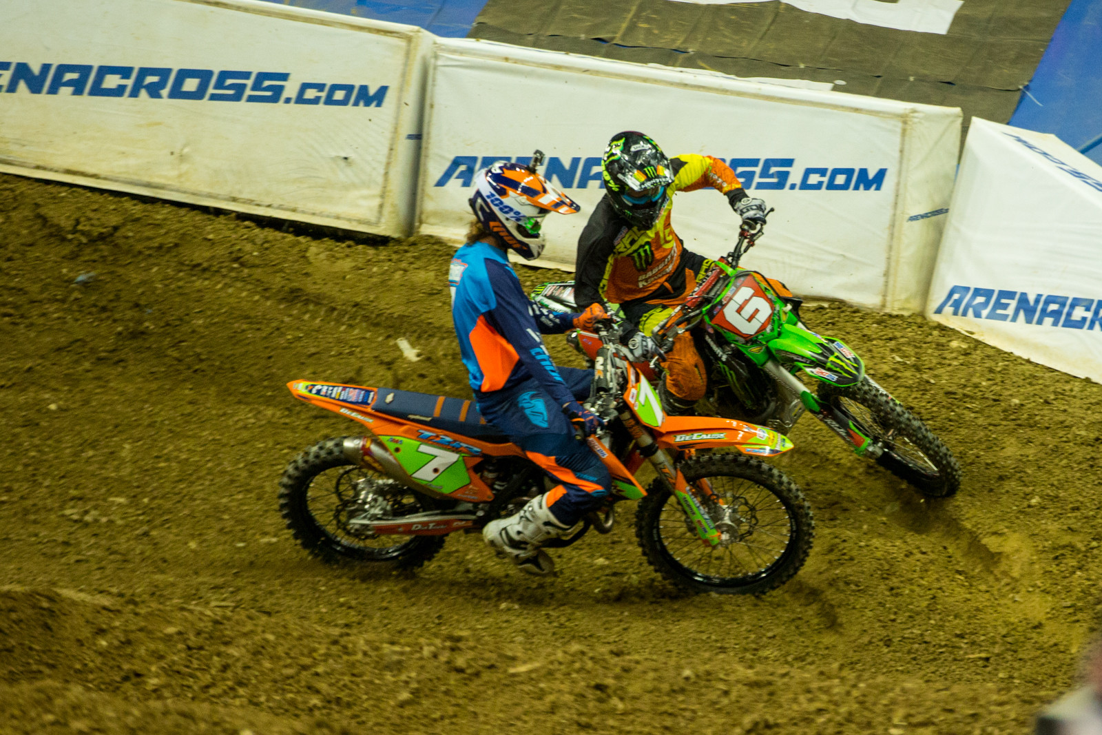 Head-to-Head Bracket Race - Photo Gallery: Ontario Arenacross - Saturday Night - Motocross Pictures - Vital MX