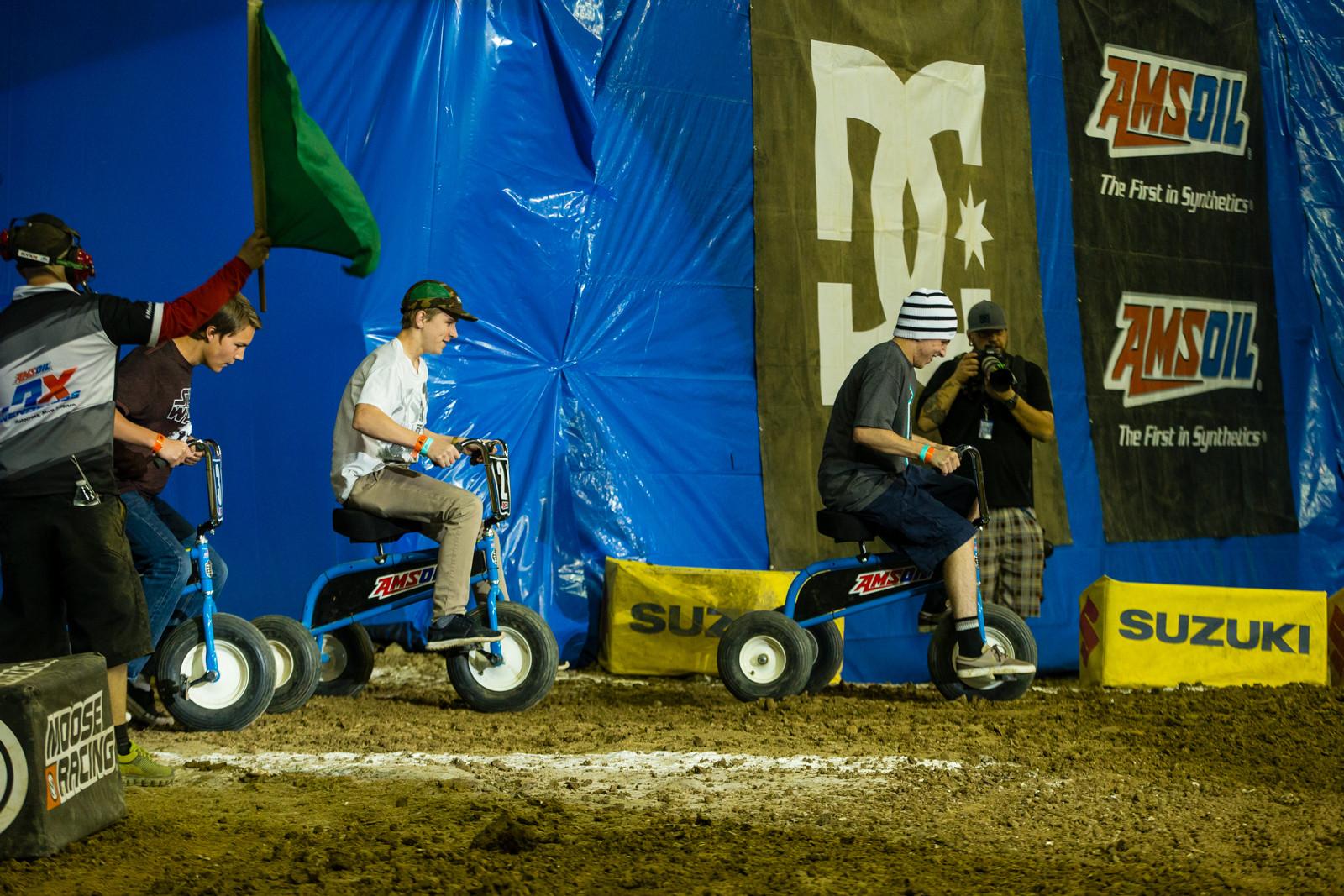 Trike Race - Photo Gallery: Ontario Arenacross - Saturday Night - Motocross Pictures - Vital MX