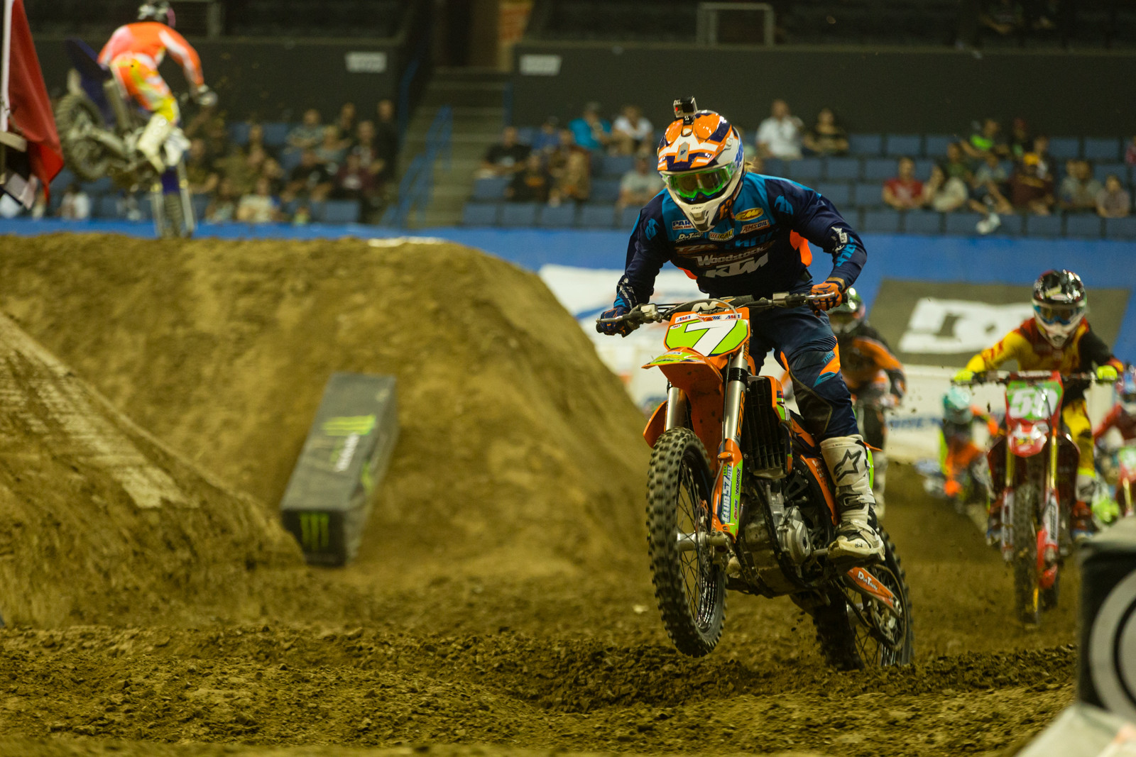 Travis Sewell  - Photo Gallery: Ontario Arenacross - Saturday Night - Motocross Pictures - Vital MX