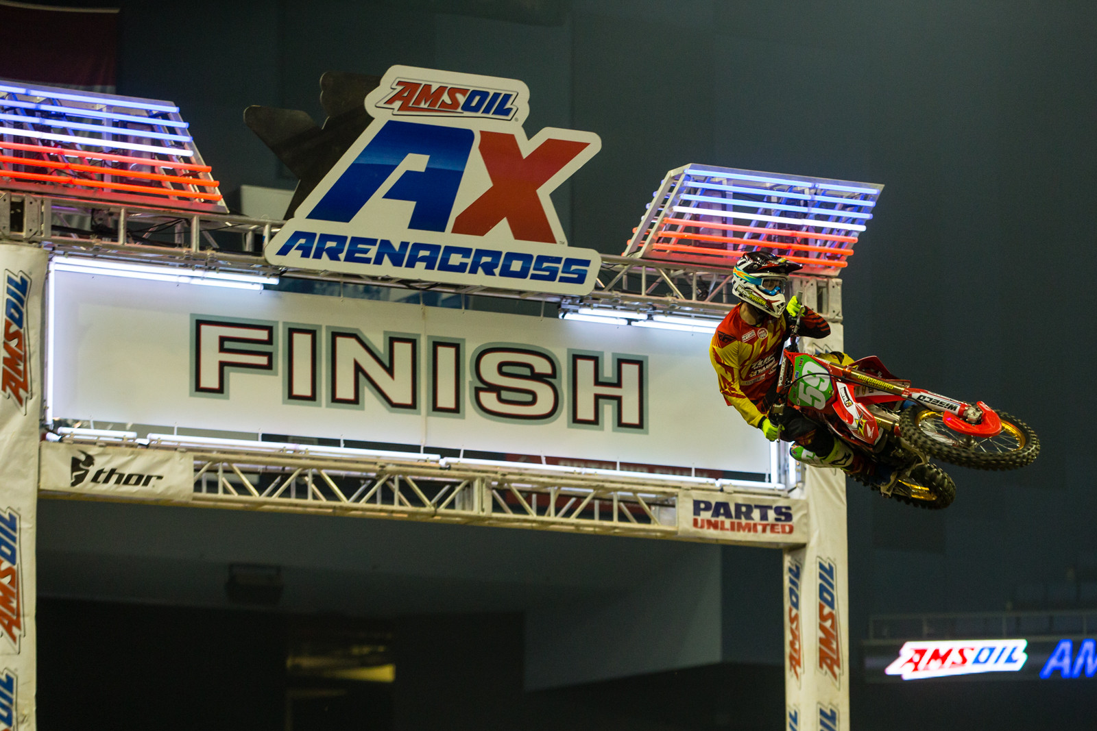 Opening Ceremonies  - Photo Gallery: Ontario Arenacross - Saturday Night - Motocross Pictures - Vital MX