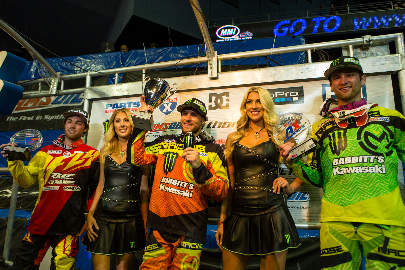 Arenacross Class Podium - Photo Gallery: Ontario Arenacross - Saturday Night - Motocross Pictures - Vital MX