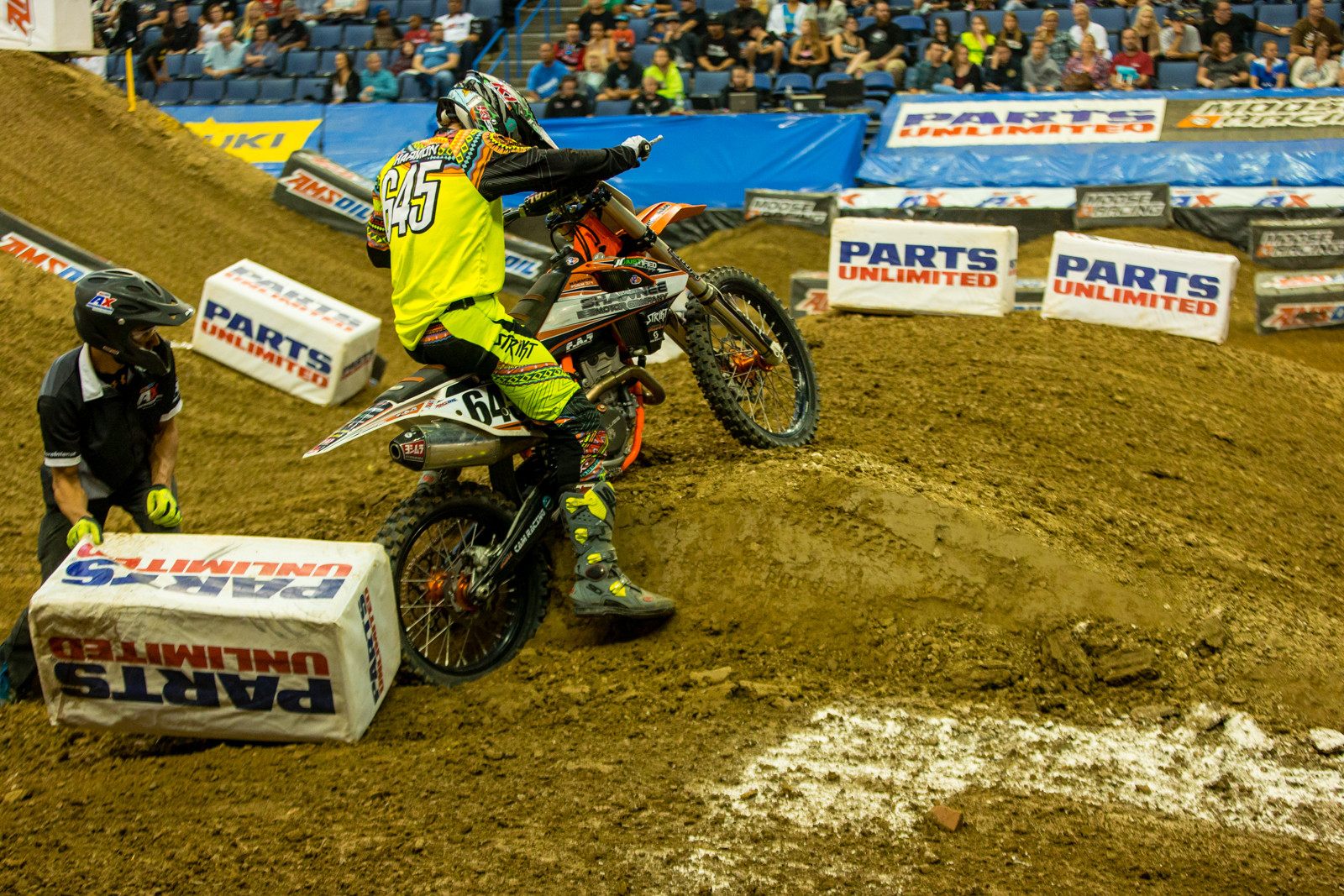 High Centered - Photo Gallery: Ontario Arenacross - Saturday Night - Motocross Pictures - Vital MX