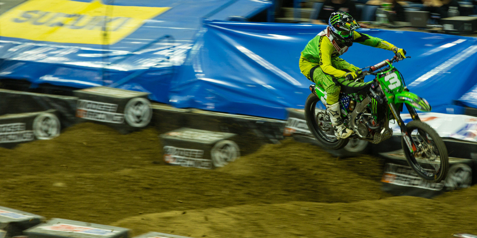 Gavin Faith - Photo Gallery: Ontario Arenacross - Saturday Night - Motocross Pictures - Vital MX