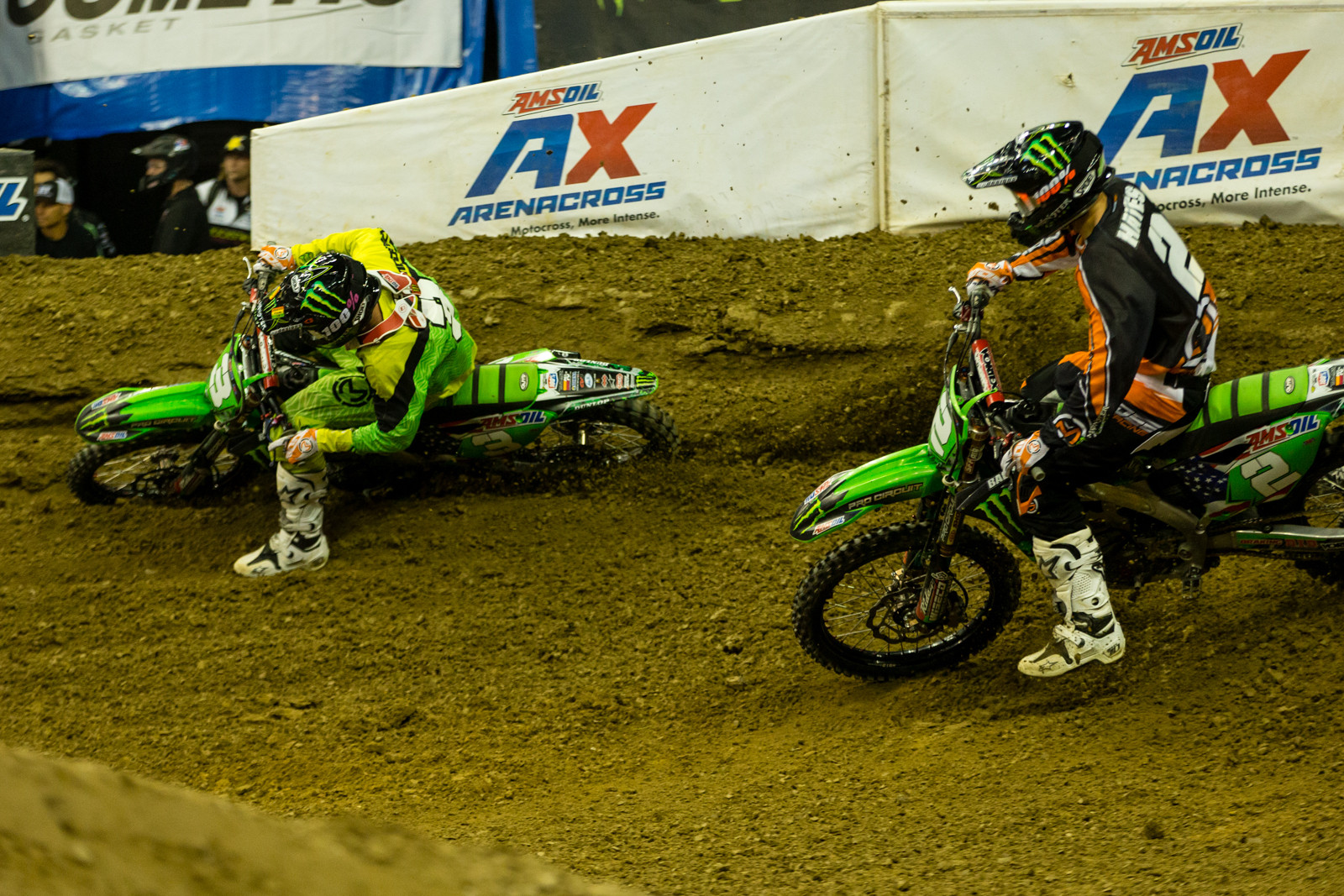 Gavin Faith and Jacob Hayes - Photo Gallery: Ontario Arenacross - Saturday Night - Motocross Pictures - Vital MX