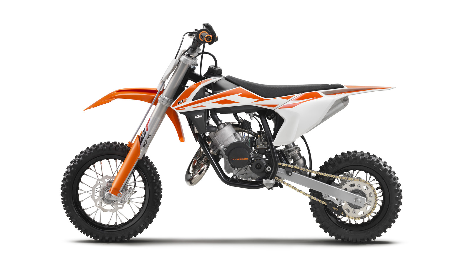 2017 KTM 50 SX - First Look: 2017 KTM 50 SX, 65 SX, and 85 SX - Motocross Pictures - Vital MX