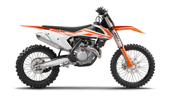 2016 KTM 450 SX-F Factory Edition Motocross Rear Semi Metallic Brake Pad