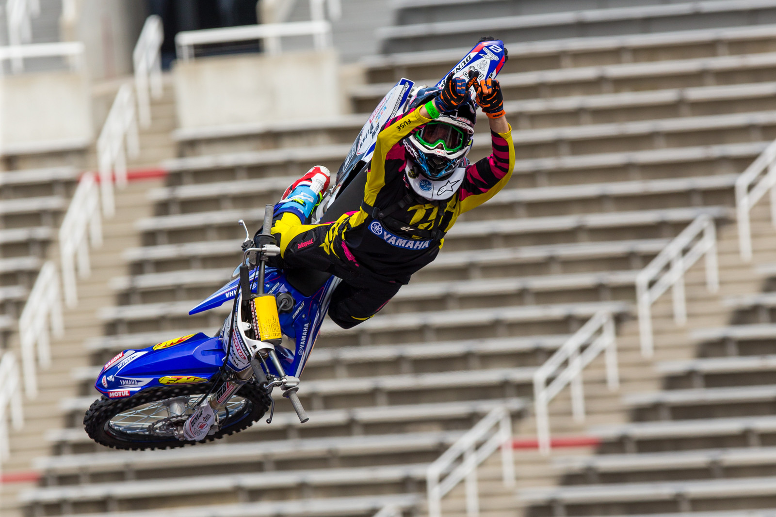 Jarryd McNeil - 2016 Nitro World Games: FMX Qualifying Gallery - Motocross Pictures - Vital MX