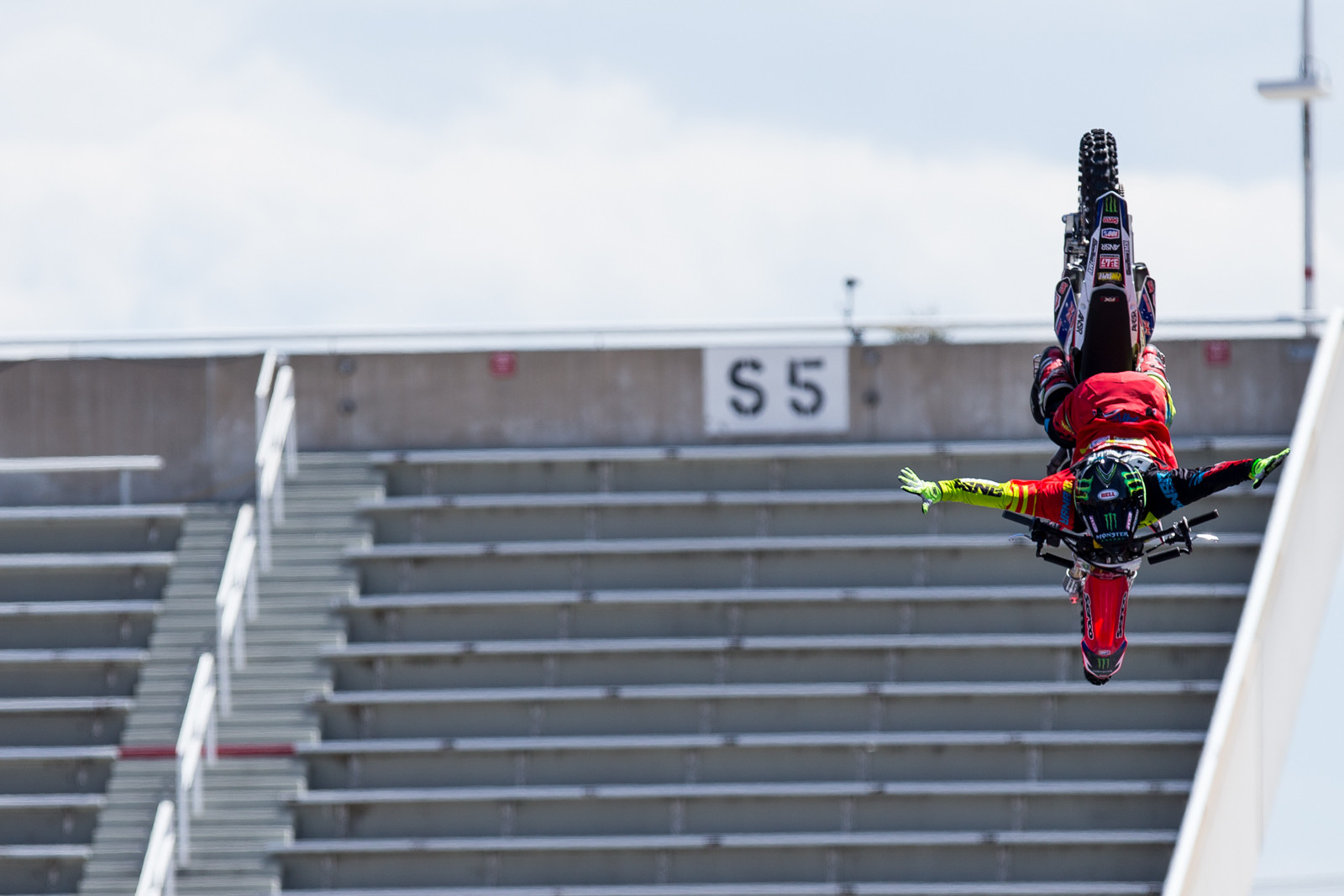 Harry Bink - 2016 Nitro World Games: FMX Qualifying Gallery - Motocross Pictures - Vital MX