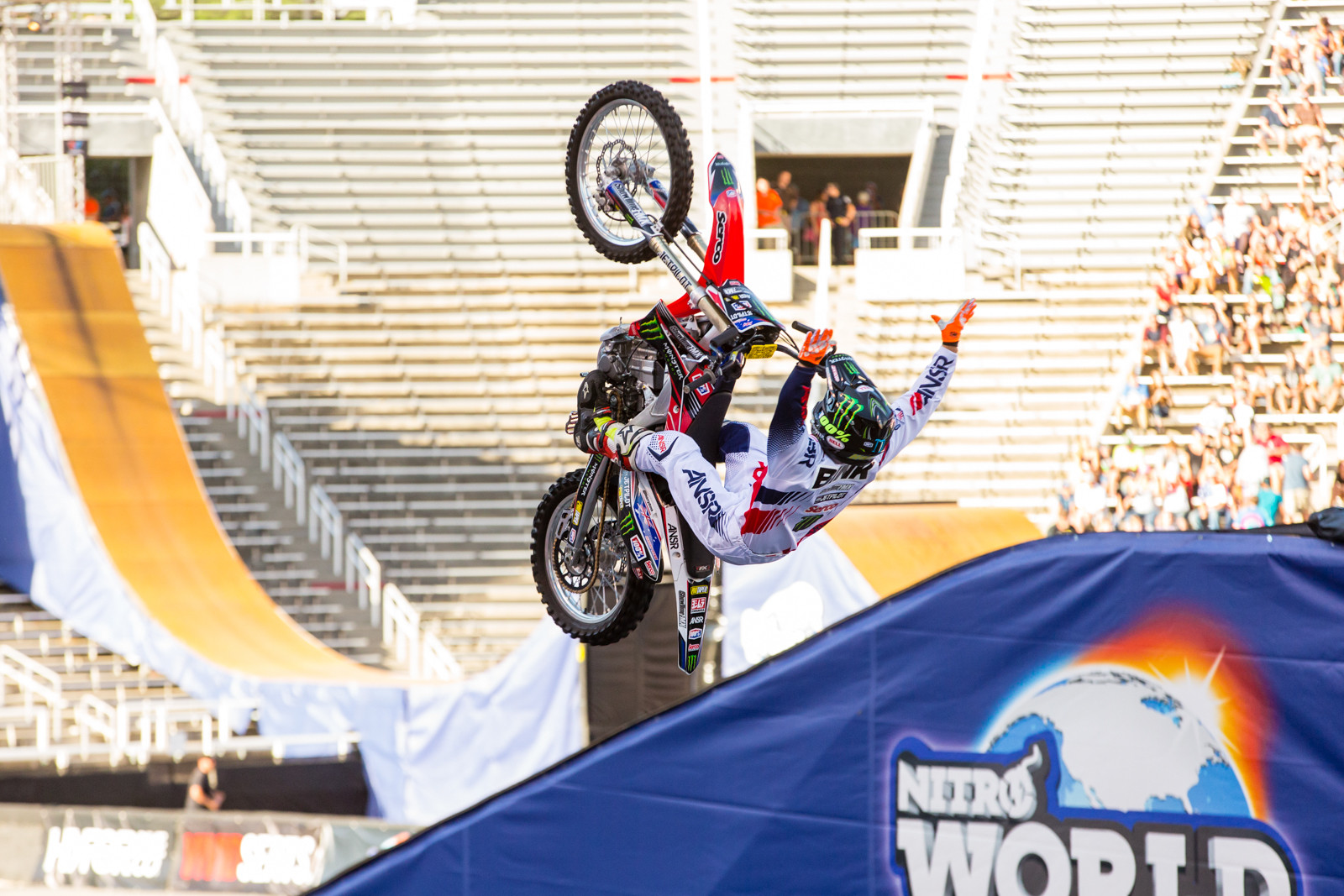 Harry Bink - 2016 Nitro World Games: FMX and Best Trick Finals Gallery - Motocross Pictures - Vital MX