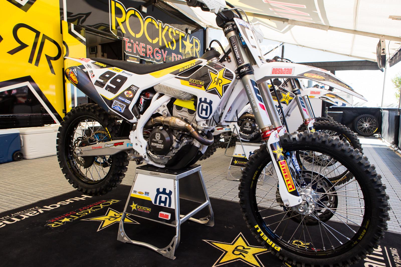 Max Anstie's Rockstar Energy Husqvarna FC 250 - Vital MX Pit Bits: 2016 MXGP of USA - Motocross Pictures - Vital MX