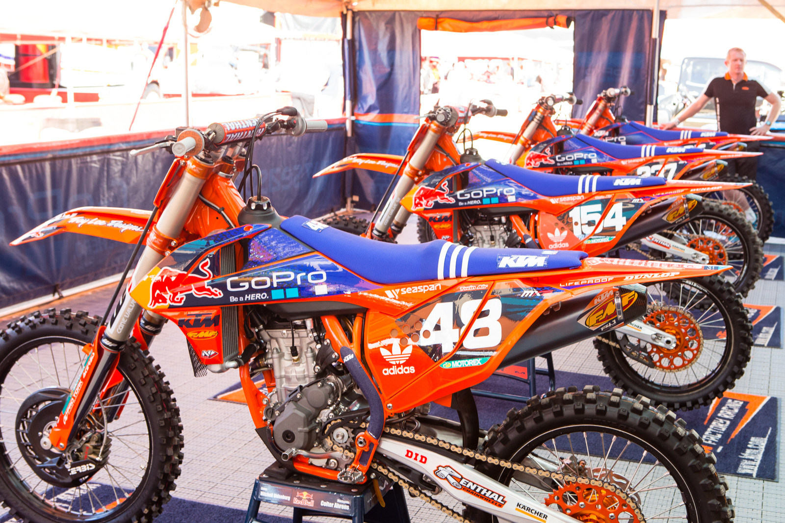 Troy Lee Designs/Red Bull KTM - Vital MX Pit Bits: 2016 MXGP of USA - Motocross Pictures - Vital MX