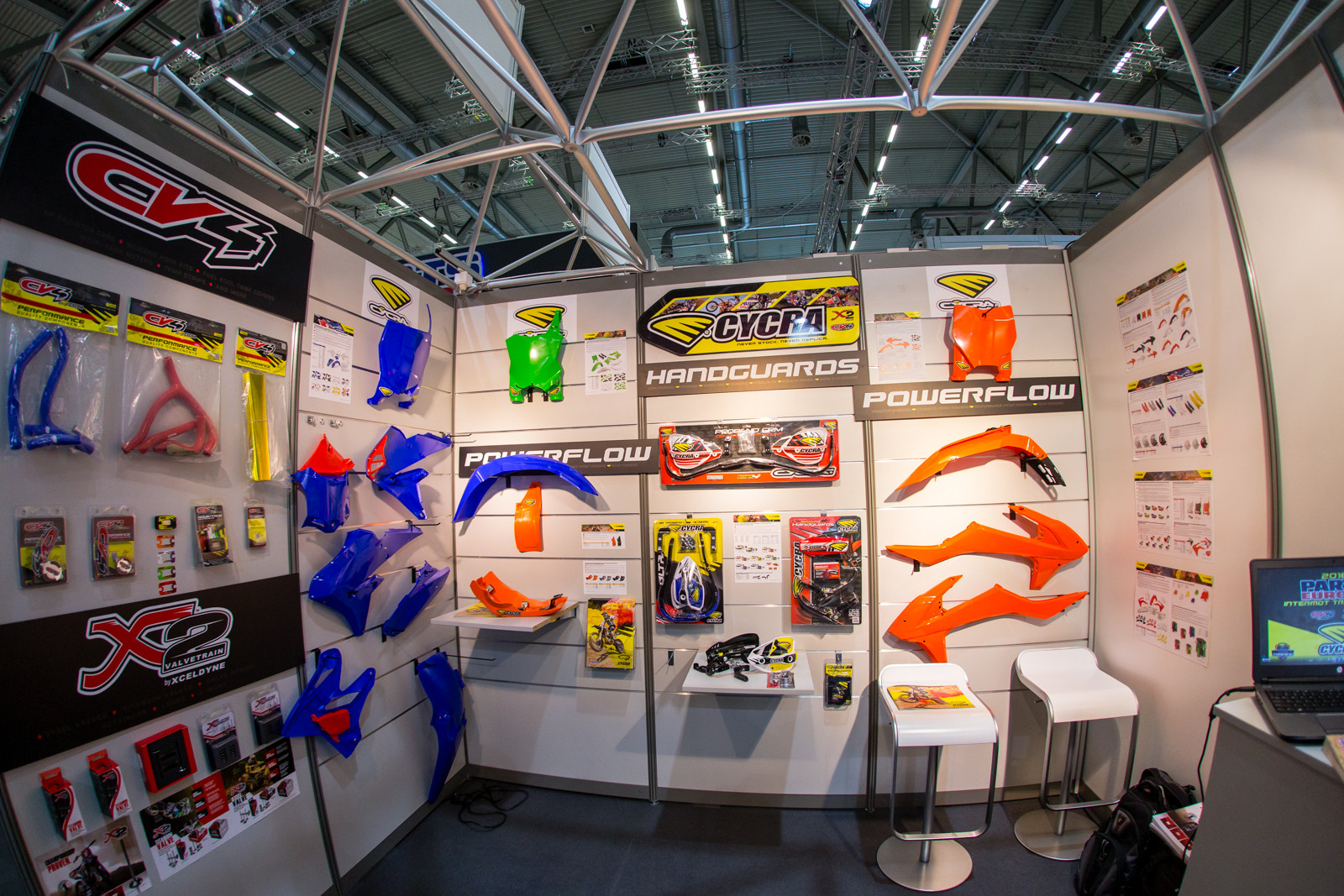 Cycra - 2016 INTERMOT: Day 1 Coverage - Motocross Pictures - Vital MX