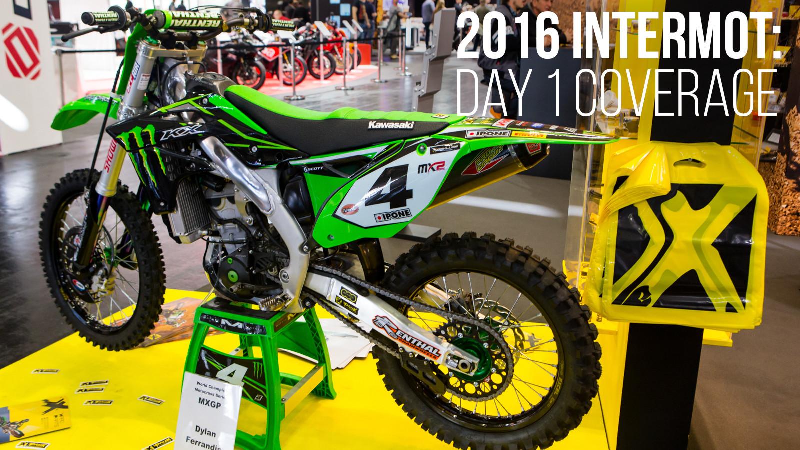 2016 INTERMOT: Day 1 Coverage - ProX - 2016 INTERMOT: Day 1 Coverage - Motocross Pictures - Vital MX