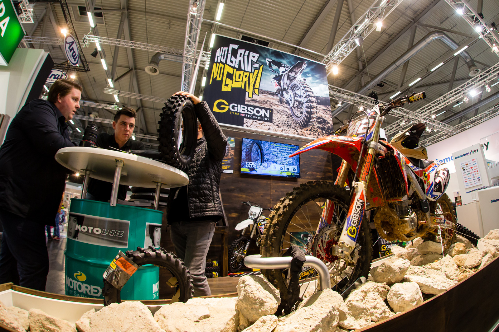 Gibson Tire - 2016 INTERMOT: Day 2 Coverage - Motocross Pictures - Vital MX