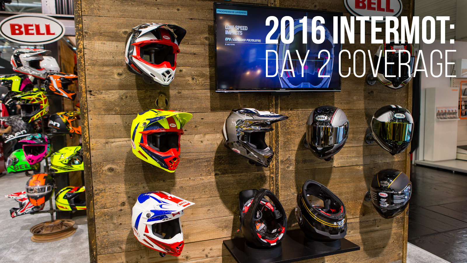 2016 INTERMOT: Day 2 Coverage - Bell Helmets - 2016 INTERMOT: Day 2 Coverage - Motocross Pictures - Vital MX