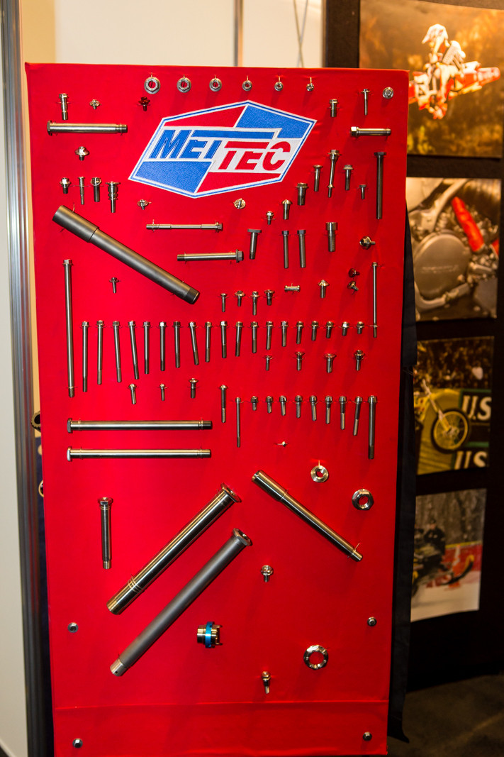 Met Tec Titanium - 2016 American International Motorcycle Expo: Day One Coverage - Motocross Pictures - Vital MX