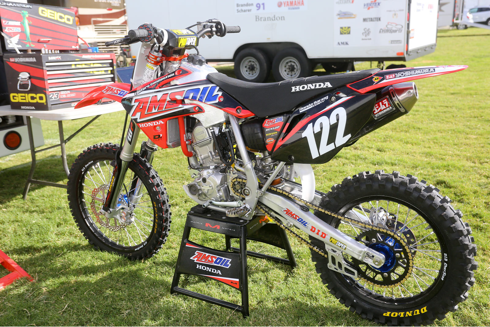 Carson Mumford's Amsoil/Factory Connection Honda CRF150R - Vital MX Pit Bits: 2016 Monster Energy Cup - Motocross Pictures - Vital MX