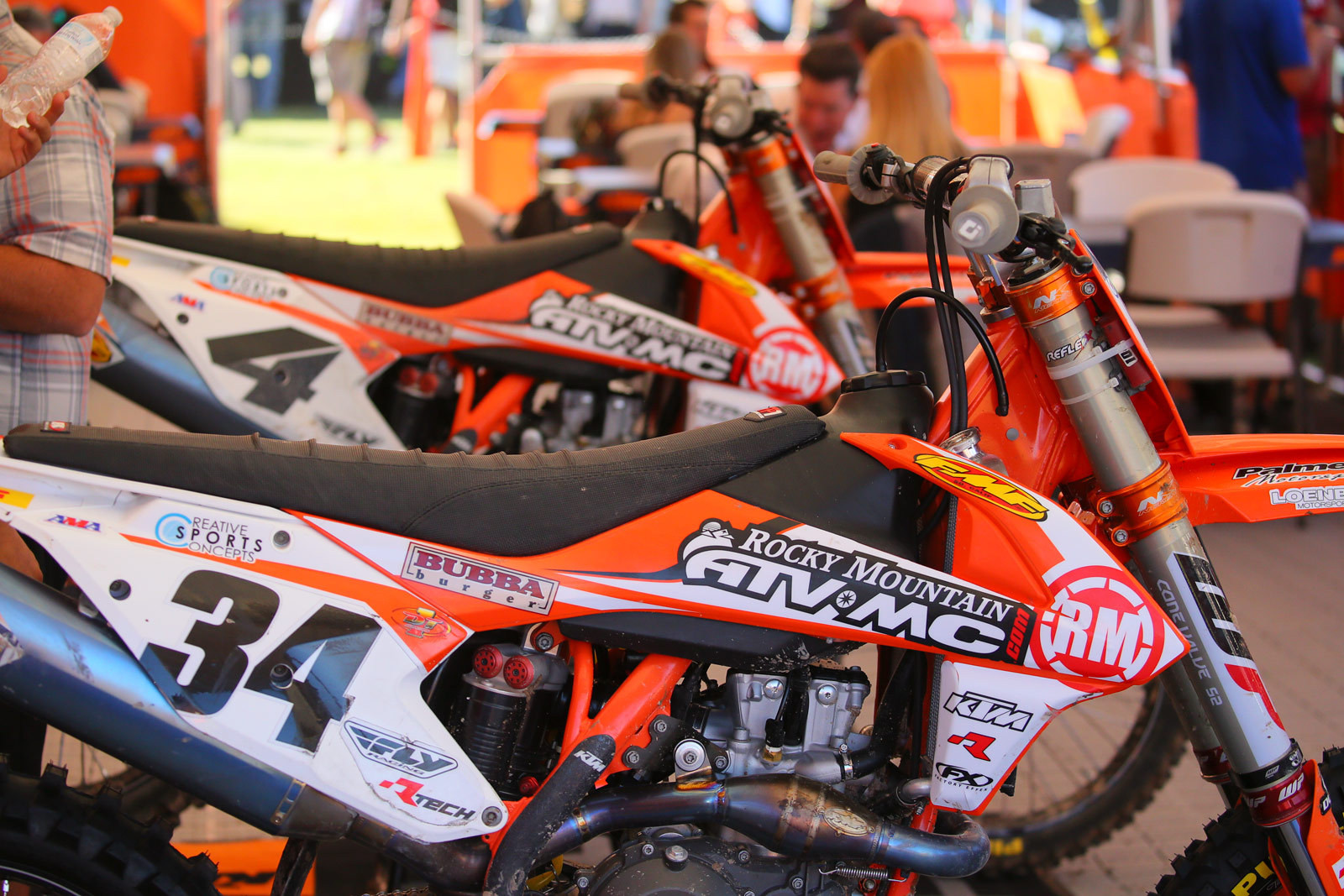 Rocky Mountain ATV/MC KTM - Vital MX Pit Bits: 2016 Monster Energy Cup - Motocross Pictures - Vital MX