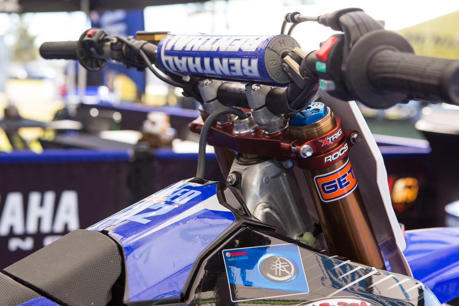 Chad Reed's Forks - Vital MX Pit Bits: 2016 Monster Energy Cup - Motocross Pictures - Vital MX