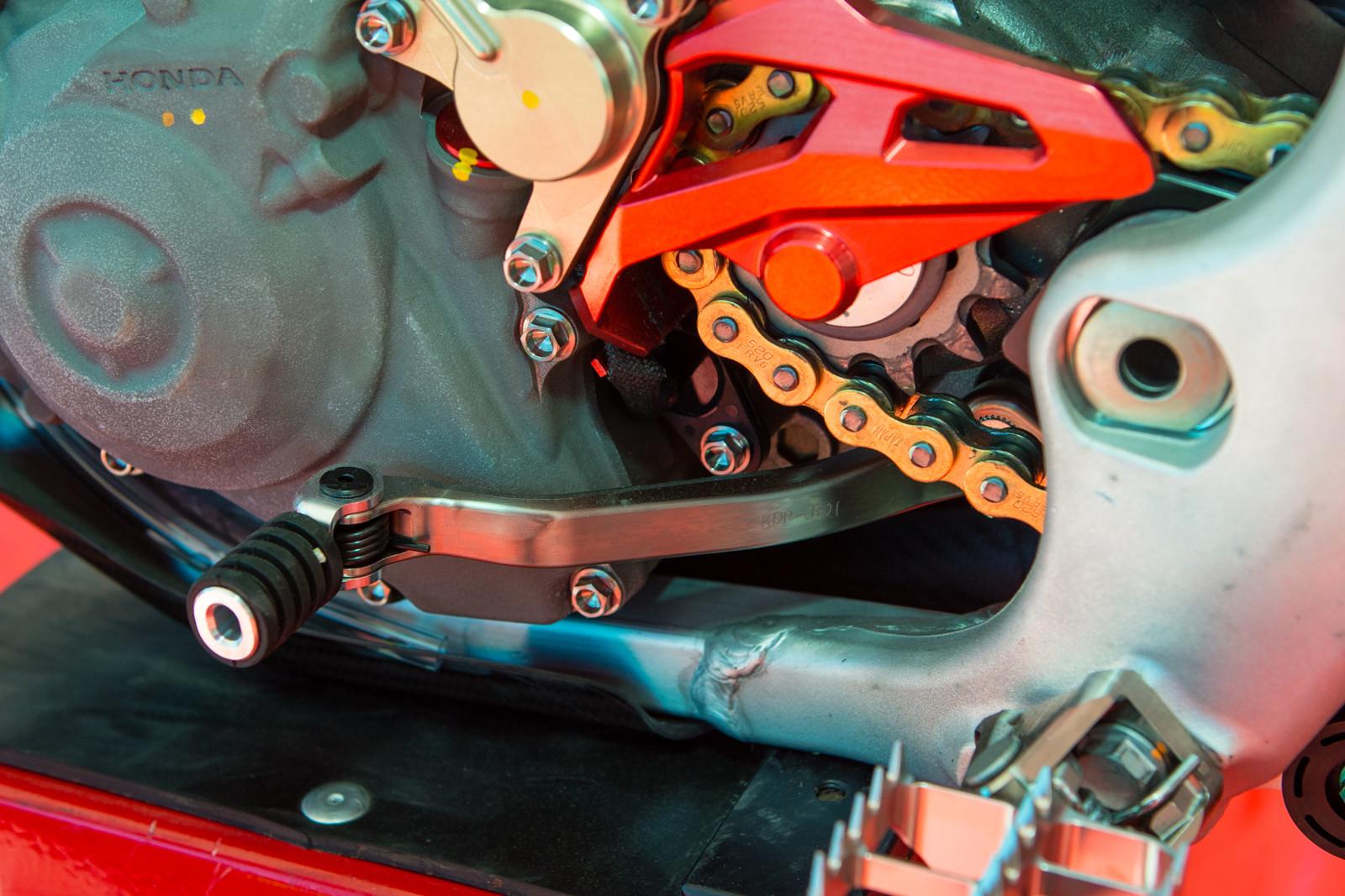 Titanium shifter - Vital MX Pit Bits: 2016 Monster Energy Cup - Motocross Pictures - Vital MX