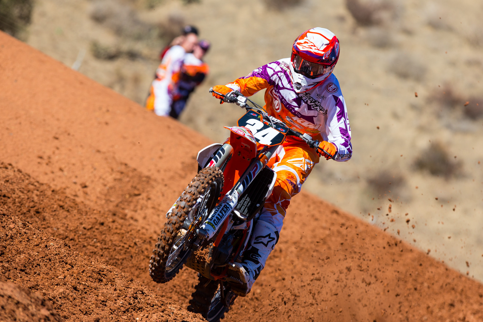Benny Bloss - 2017 KTM Supercross Factory and Support Team Intro - Motocross Pictures - Vital MX
