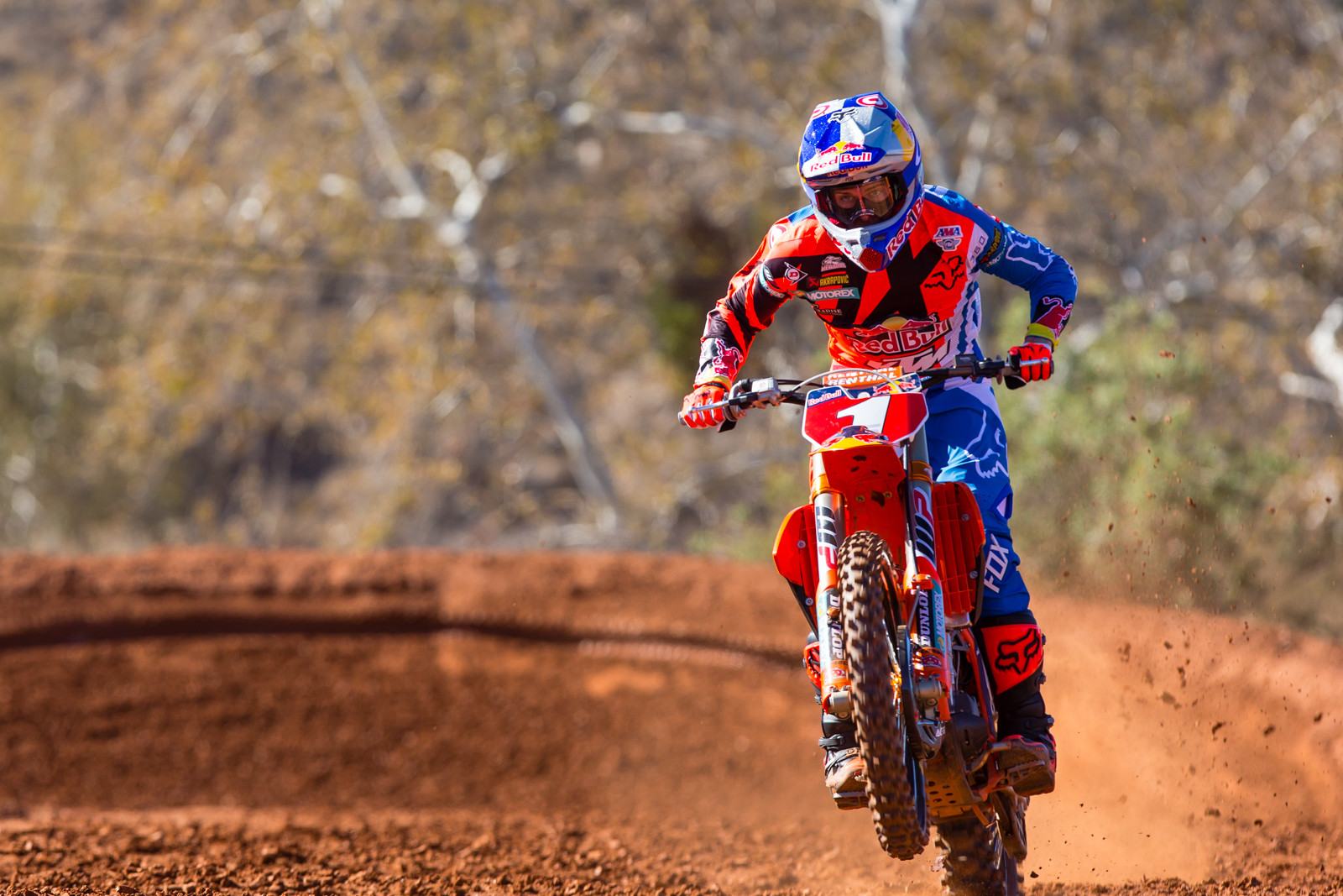 Ryan Dungey - 2017 KTM Supercross Factory and Support Team Intro - Motocross Pictures - Vital MX