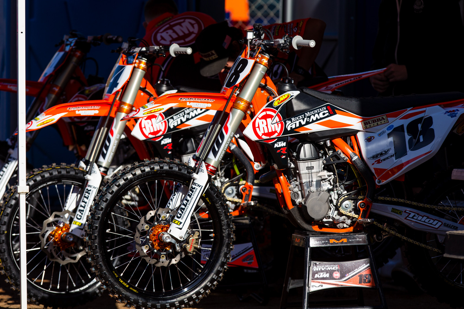 Rocky Mountain ATV/MC KTM Team - 2017 KTM Supercross Factory and Support Team Intro - Motocross Pictures - Vital MX