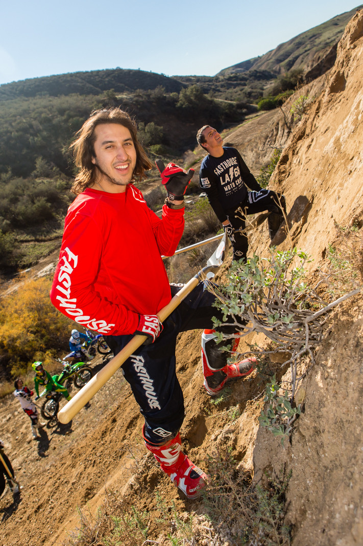 Ricky Diaz - Rain in SoCal - To the Hills of Beaumont - Motocross Pictures - Vital MX